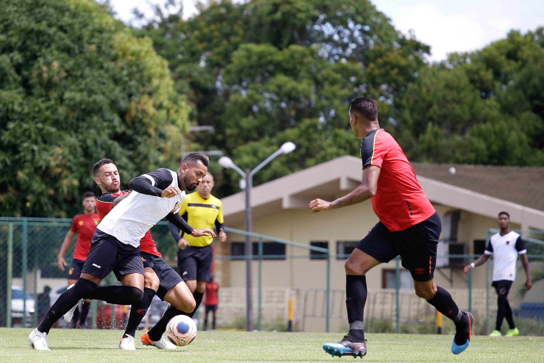 Sport 0 X 0 Botafogo Pb Jogo Treino 11 01 2020 Sport Club Do Recife