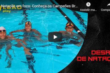 Natação em foco: Conheça os Campeões Brasileiros do Leão