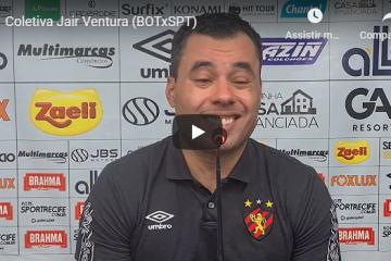 Coletiva – Jair Ventura após vitória contra o Botafogo