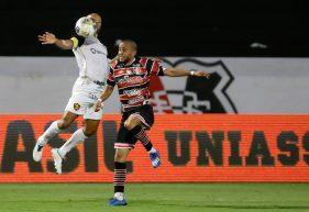 Santa Cruz 1 x 2 Sport (Copa do Nordeste 2021) – 31/03/2021
