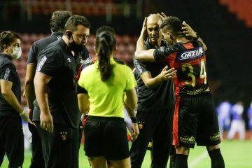 Gols de Sport 3×0 Vitória/PE (Adryelson, Thiago Lopes e Mikael)