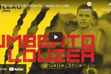 Primeiro dia de Umberto Louzer no Leão