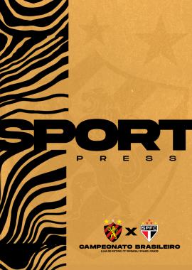 Capa Press Kit Brasileiro Sport x São Paulo